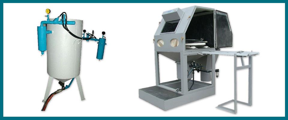 Máquinas Para Jateamento Pressurizado